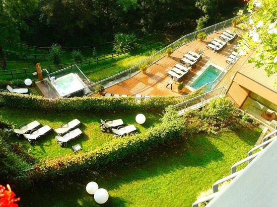 Rota d'Imagna, Italië: Vista dall'alto