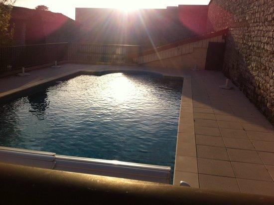 Hotel Vuillot : Vur sur la piscine