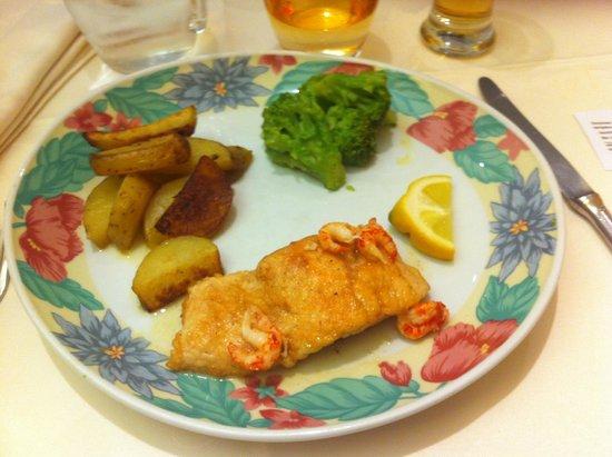 Hotel Vuillot : Exemple d'un plat