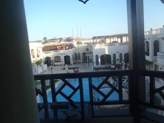 Oriental Rivoli Hotel: widok