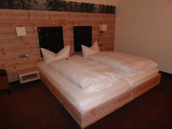 Berghotel Mummelsee: The bed/s