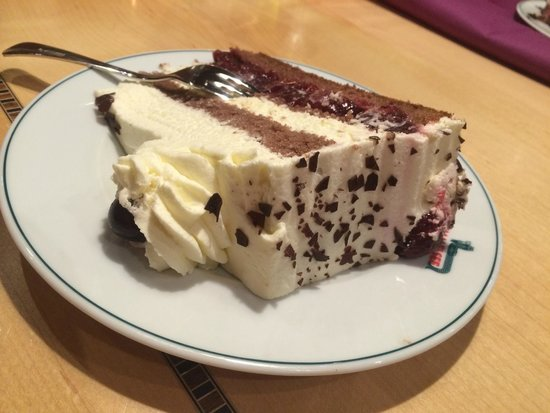 Berghotel Mummelsee : Black Forest Gateaux at the on site restaurant
