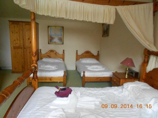 The Urr Valley Hotel: Bedroom