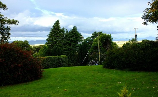 The Old Farmhouse: view from garden room