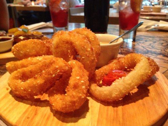 Dolkabar: Onion rings