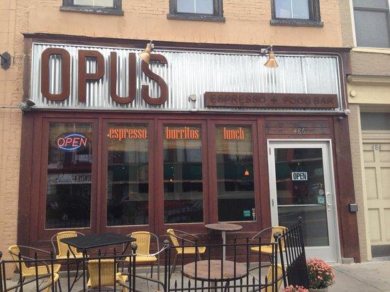 Opus Espresso & Food Bar: OPUS Espresso and Food Bar