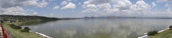 Lake Elementaita, เคนยา: lake view panaroma