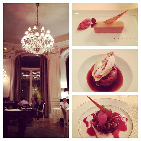 Tiara Chateau Hotel Mont Royal Chantilly : Delicious dinner set at l'opéra restaurant