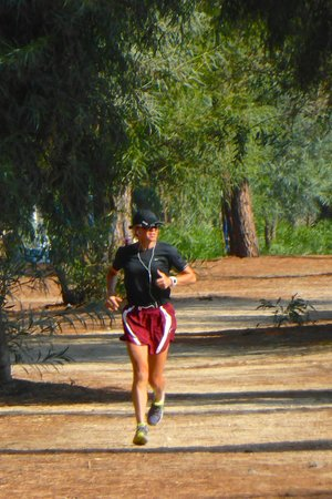 Camping Thurium Villaggio: Wonderful grounds for runners
