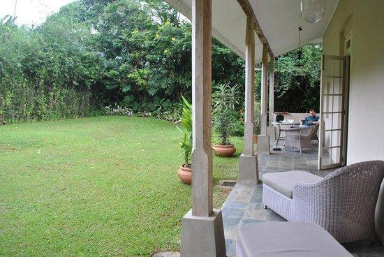 Ceylon Tea Trails: Our private garden