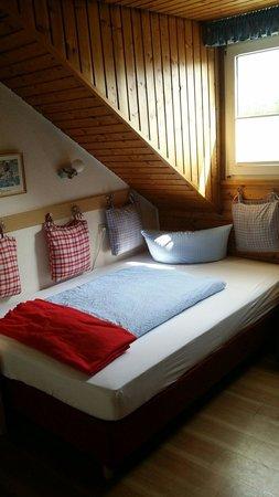 Hotel Leander: Einzelzimmer.