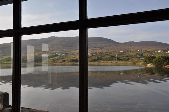 Bleanaskill Lodge: vue à marée haute