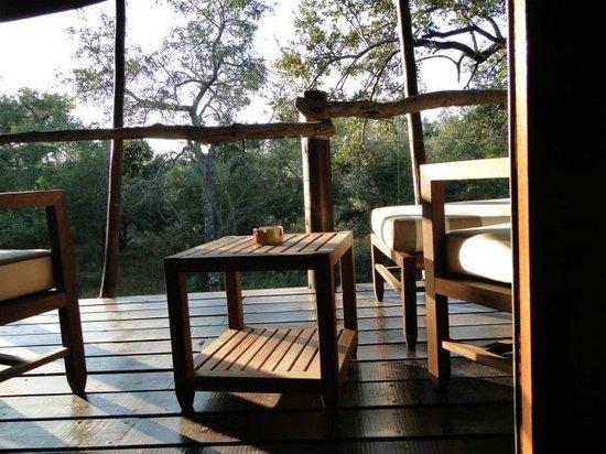 Kapama Buffalo Camp : varanda do quarto