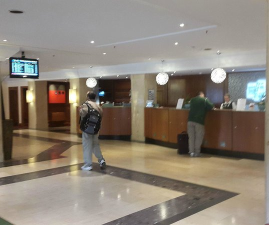Holiday Inn Frankfurt-Airport North: Reception Area