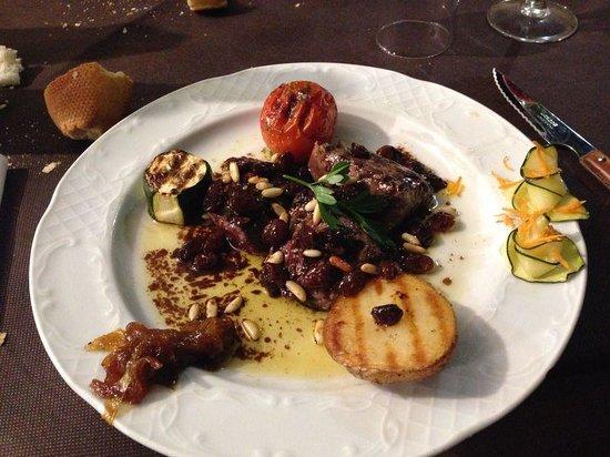 Restaurante Juquim: Filetes de caza