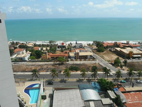 Ponta Negra Flat: Vista da varanda do apartamento