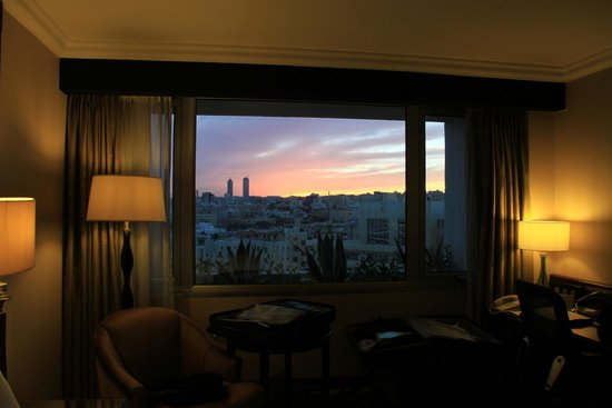 Amman Marriott Hotel : Vista desde la habitación