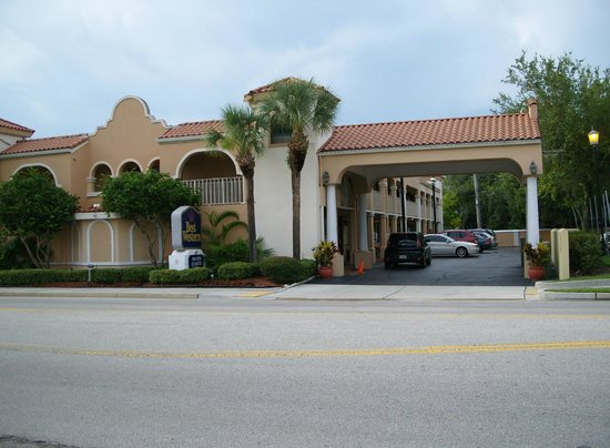 BEST WESTERN St. Augustine I-95: Das Hotel von der Straße aus gesehen