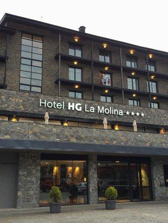 HG La Molina: fachada principal