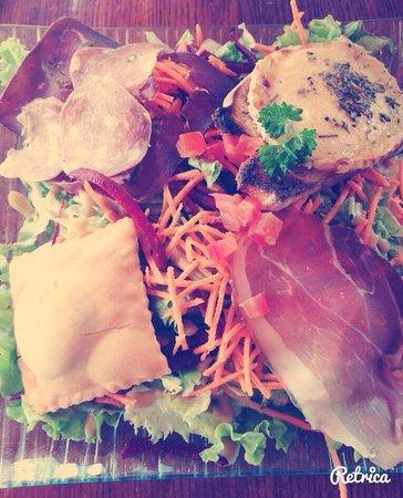 Refuge des marmottes: Salade du Berger !!!