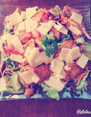 Refuge des marmottes: Salade du Chef !!!