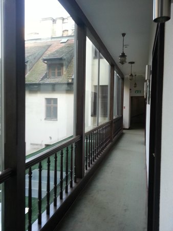 Hotel Unicus: Area outside room