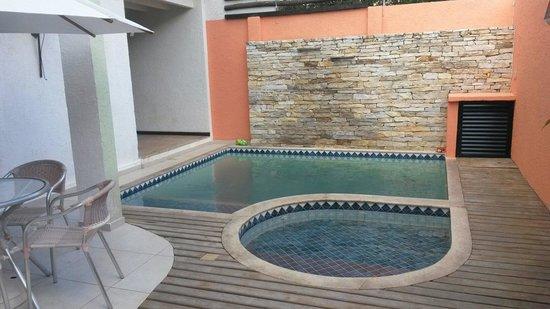 Brasil Nativo Pousada: Hidromassagem + piscina