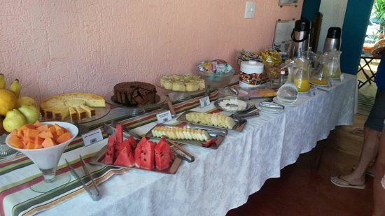 Brasil Nativo Pousada: Café da manhã
