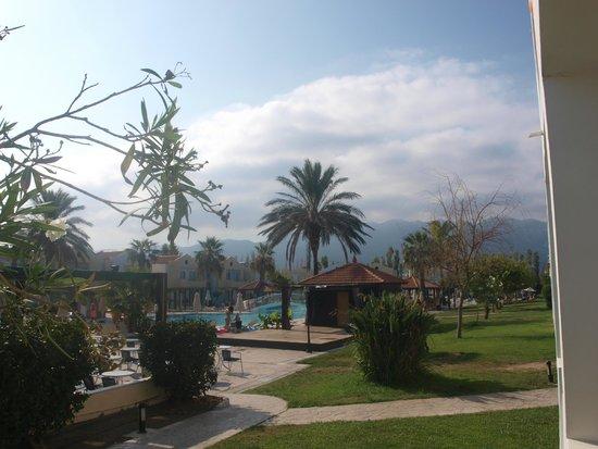 Zorbas Beach Hotel: view from balcony