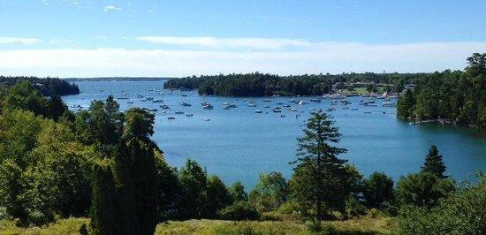Asticou Inn : View of Northeast Harbor