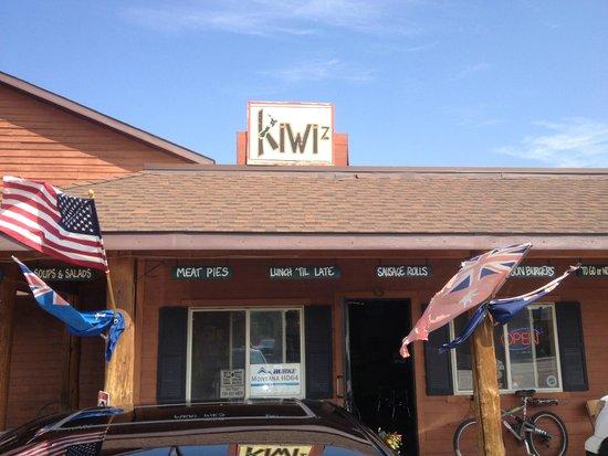 Kiwi's Takeaway : the outside of Kiwi