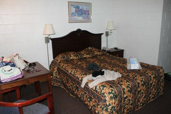 Miner's Motel : chambre simple