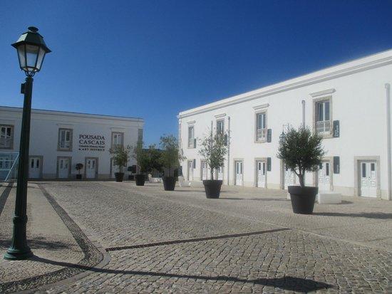 Pestana Cidadela Cascais : Arrivée à la Pousada, à l intérieur du fort