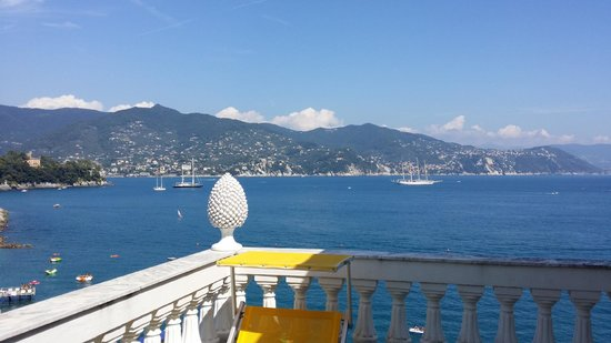 Grand Hotel Miramare : View from terrace