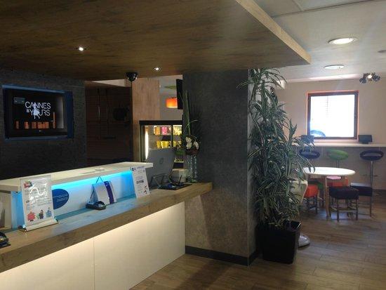 Ibis Budget Cannes Centre Ville : Reception