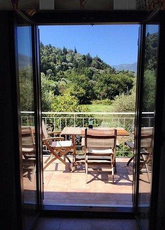Il Viaggio Verde : Vista desde el balcon de nuestra habitacion