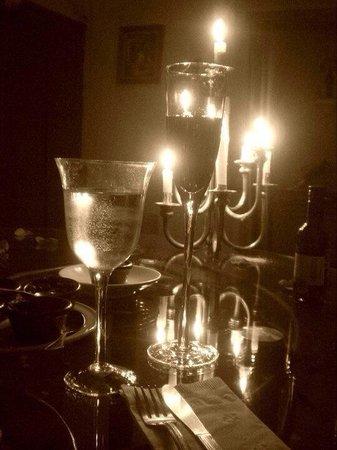 Plaza Vieja: Cena romántica a la luz de las velas