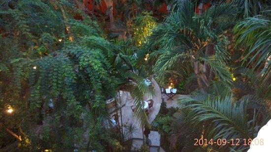 Sofitel Legend Santa Clara: Vista del patio interior desde arriba