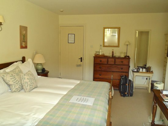 The Bell at Skenfrith: Our Room - No 2