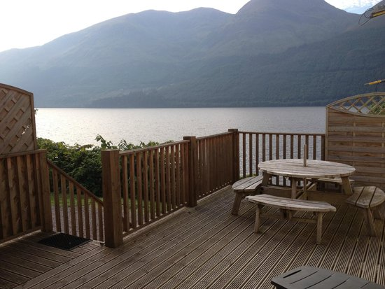 Letterfinlay Lodge Hotel : Balcony view