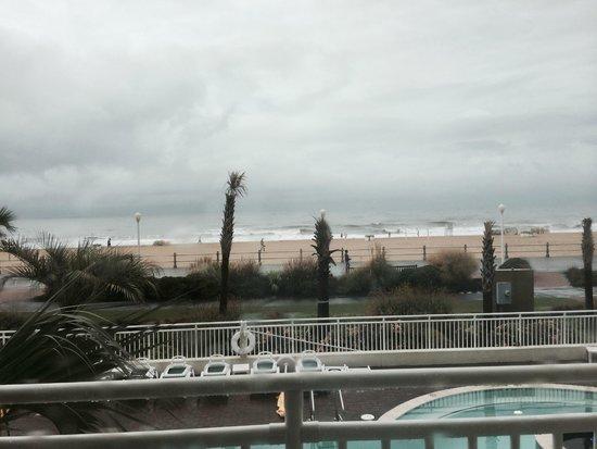 Sheraton Oceanfront Hotel: View