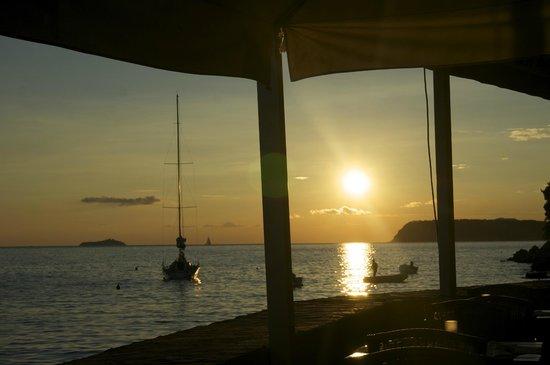 Casa Restaurant : sunset view
