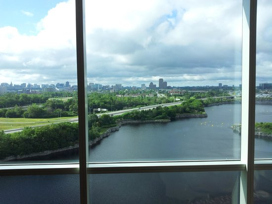 Hilton Lac-Leamy: Ottawa View from 17th Floor