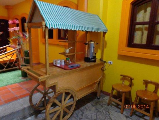 Hostal San Blas : Café