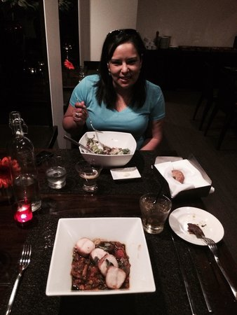 Hotel Valencia Riverwalk: Dinning! The dishes are as flavorful as they are visually appealing!