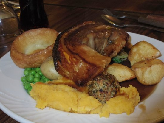 Cart and Horses: Roast pork meal