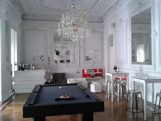 Lisb'on Hostel: salon