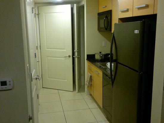 Residence Inn Fort Lauderdale Intracoastal/Il Lugano: kitchenette