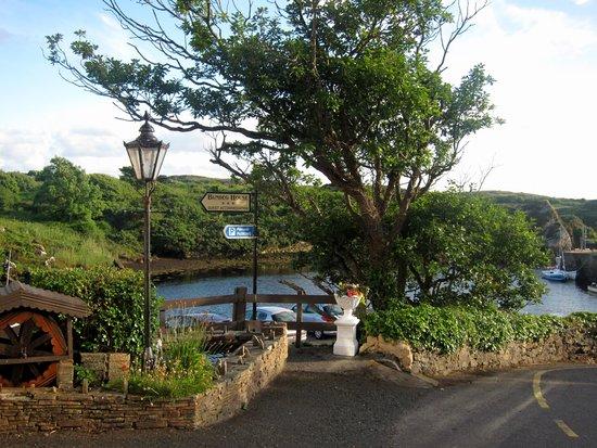 Bunbeg House: view