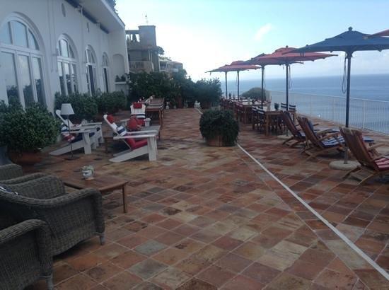Maison La Minervetta: spectacular terrace...